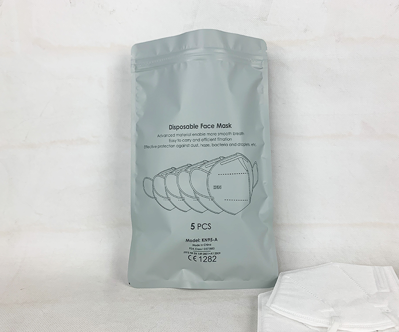 Kn95 medical mask packaging bag